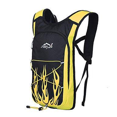 15 L Rucksack Camping & Wandern Klettern Legere Sport Jagd Reisen Radsport Schule Draußen Leistung Legere SportWasserdicht Regendicht Yellow