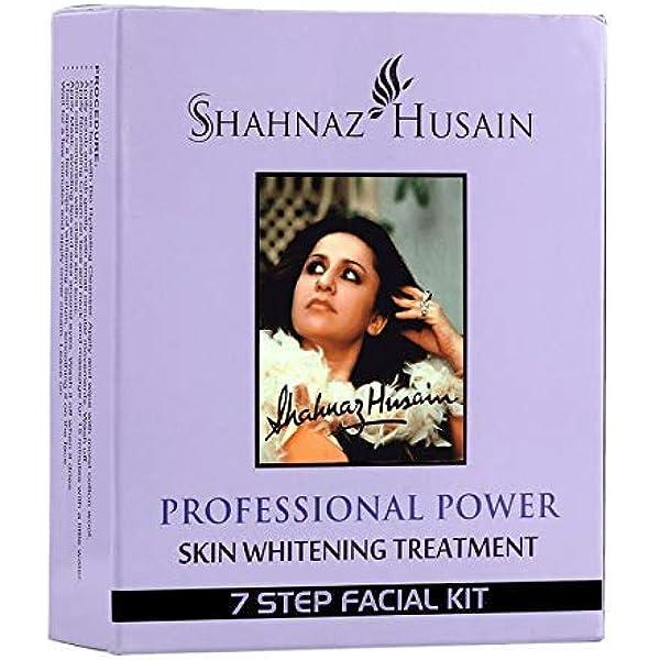 Shahnaz Husain 7 Step Skin Whitening Treatment Facial Kit 63g Amazon In Beauty