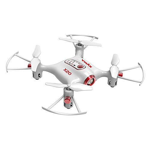 Zantec Mini RC Drone Portatile Remote Control con Altitude Hold One Key Decollo/Atterraggio Bianco