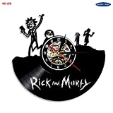 Rick und Morty Vinyl Led Wand Beleuchtung Vintage Lp Rekord Lampe kreative Silhouette...