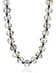 Pilgrim Damen-Halskette Party Hematite Grau 100 Cm 675-901