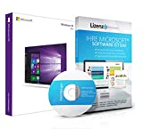Original Microsoft® Windows 10 Professional 32bit - aktuellste Version mit allen Updates. DVD Box Lizenza PRO, Lizenzunterlagen, Zertifikat & Lizenzschlüssel