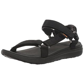 Teva Women's W Sanborn Universal Sandal, Black, 8 UK