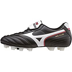 MizunoMrl Club Md - Scarpe da Calcio uomo, Nero (Black (Black/White/Red)), 43