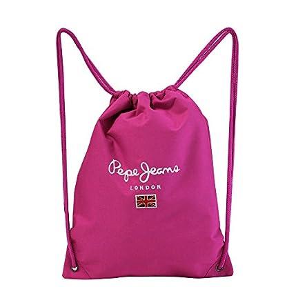 41fbpJWhcnL. SS416  - Pepe Jeans Mochila Saco, 1 litro, Color Rosa