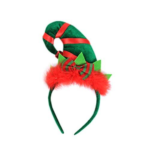 Gysad Forma sombrero elfo Cintas pelo Divertido lindo