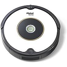 iRobot Roomba 605 Saugroboter (hohe Reinigungsleistung, für alle Böden, geeignet bei Tierhaaren) weiß