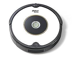 iRobot Roomba 605 Saugroboter (reinigt alle Hartböden und Teppiche, Dirt Detect Technologie, 3-Stufen-Reinigungssystem) weiß