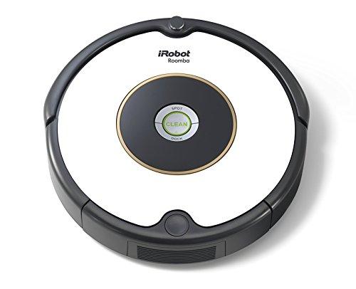 *IRobot Roomba 605 Saugroboter (hohe Reinigungsleistung, reinigt alle Hartböden und Teppiche, geeignet bei Tierhaaren) weiß*