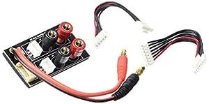 T2m - T1231/3 - Accessoire Pour Radio Commandes - Chargeur - Platine Duo Jst Xh