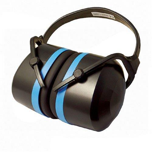 Silverline - Orejeras plegables Expert SNR 33 dB
