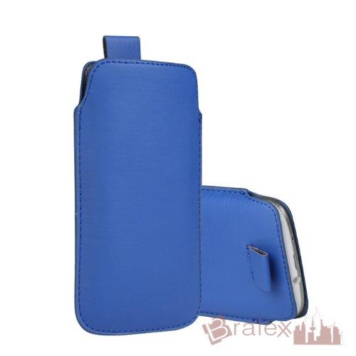 BRALEXX Universal Smartphone Socke passend für Mobistel Cynus E6, Blau