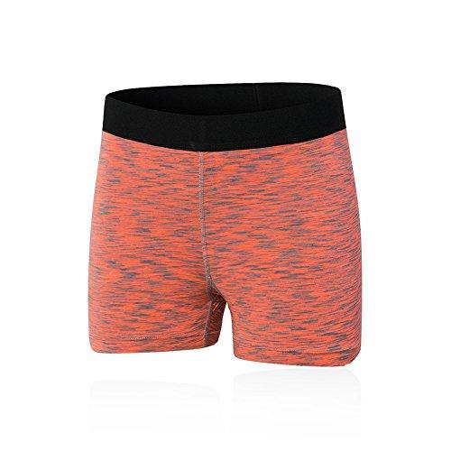 ESHOO Femmes Sous-vêtements de sport Shorts Séchage Rapide Pour Gym Yoga Courts Rouge