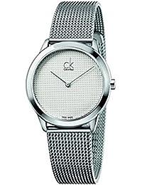 Amazon.es  reloj calvin klein hombre - Blanco  Relojes 9bb7b871ba6a