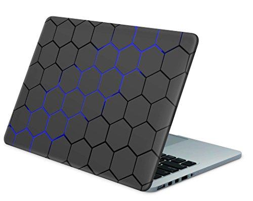 """Skins4u Laptop Aufkleber Universal Skin Netbook Sticker von 10 bis 17,3"""" Individuell auf Ihr Maß Geschnitten - EXO Blau"""