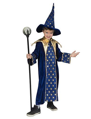 Halloweenia - Jungen Kinder Kostüm, Hexer Magier Zauberer Wizard,perfekt für Halloween Karneval und Fasching, 164, - Hexer Kostüm Für Jungen