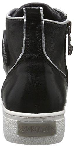 MARC CAIN Fb Sh.02 L14, Baskets Basses Femme Noir - Noir (noir 900)