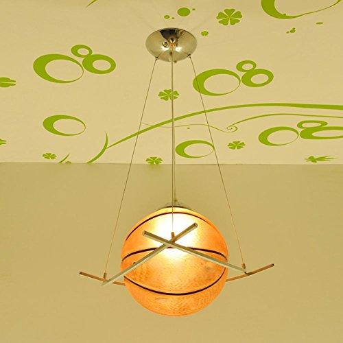 BJVB Lampade Illuminazione Camera da letto a distanza ccontrol LED Luci Ragazze Ragazzi Basket Calcio (Acciaio Per Scale Ferroviaria)