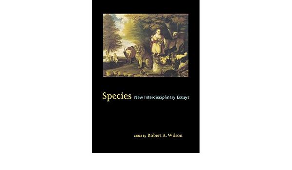 Species new interdisciplinari essays come si fa un business plan esempio