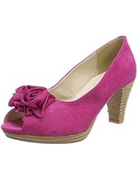 Andrea Conti Platea - Zapatos de tacón con punta abierta Mujer