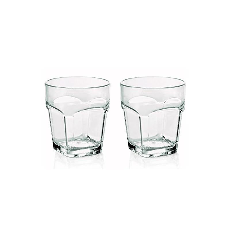 2 X Bruchfestes Whiskyglas Whiskeyglas Ca300 Ml Glser Set Aus Hochwertigem Kunststoff Polycarbonat Edle Glser Fr Camping Partys Wie Echtes Glas