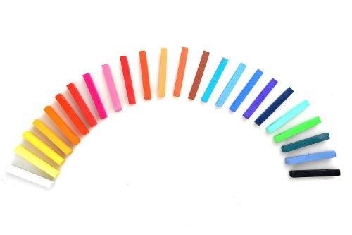 tizas pastel en 24 colores, Mod. F-2024