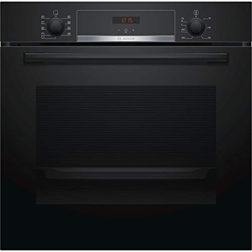 41fc%2BHT9xTL. SS500  - Bosch HBS534BB0B Serie 4 Multifunction Electric Built-in Single Oven - Black