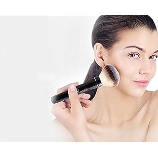 Make-up Pinsel, Automatische elektrische Kosmetik Pinsel USB wiederaufladbare 360 ° Rotatable Foundation Brush Set (Zwei Pinselköpfe)