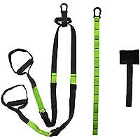 ULTRAFIT Entrenamiento en suspensión, Incluye Anclaje para Puerta y Bucle Suspensor, Entrenador en suspensión para Ejercicios de Cuerpo Completo.