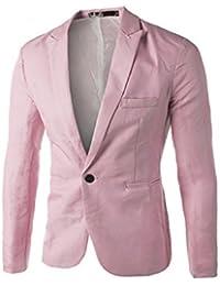bfa85f7bd5774 Amazon.es  Rosa - Trajes y blazers   Hombre  Ropa