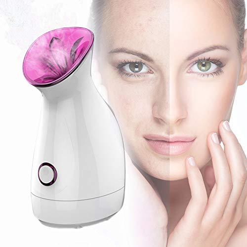 ZQG BEAUTY Gesichtsdampf-Ionen dampfenden Gesicht heiße Feuchtigkeit Sprayer Sauna Inhalator Spa öffnen Pores tragbare professionelle Schwarzkopf-Akne-Behandlung