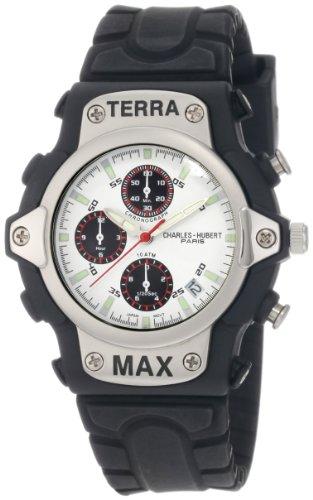 charles-hubert-paris-mens-3525-w-classic-collection-fiber-glass-case-chronograph-watch