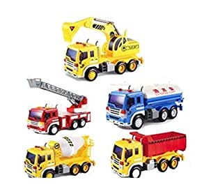 Buy Sita Ram Retails Children's 5 pc Super Trucks Set Toy