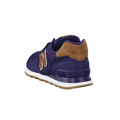 New Balance Ml574txd, Scarpe da ginnastica Uomo navy-brown (ML574TXB)