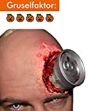 King of Halloween Psycho Cane-Halloween-solicitud Zombie-Latéx-FX-Horror- Maquillaje...