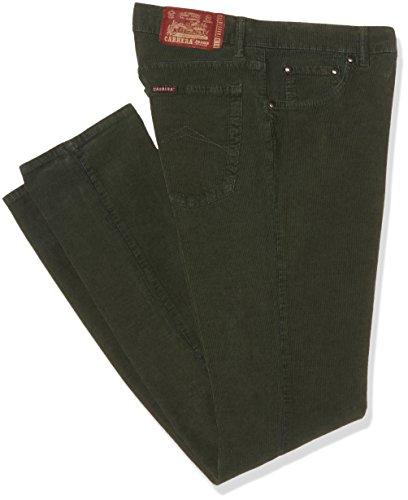 CARRERA 5 Tasche Modello 700 Velluto Stretch 1000R, Vita Regolare, Gamba Regolare, Pantaloni Uomo, 770 Verdone, 50 IT (34W/34L)