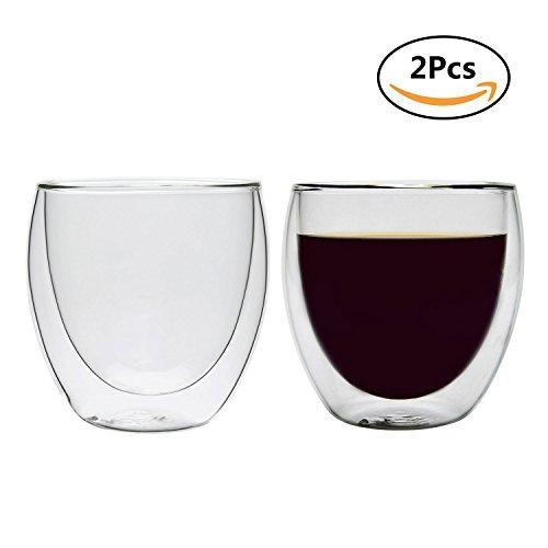 Rachel's Choice 250ml Verre double Tasse à...