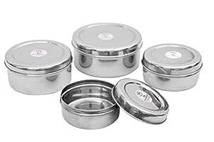 Sai Home Appliances Puri Dabba 4Pcs Set