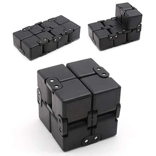 EKKONG Fidgeting di edc di novità - Fidget Cube in Stile con Il cubo  Infinite Cube Infinity Cube Fidget Cubo Stress Relief e Ansia Giocattolo  per