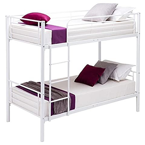 UEnjoy 2x3FT Single Metal Bunk Beds Frame for Adult and