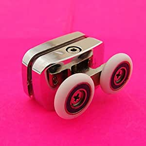 1 Top cabine de douche en alliage de Zinc rouleau Runner/roues F23
