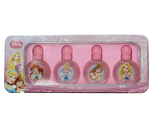 Disney, Princess, Set di profumi delle Principesse, 4 x 9 ml