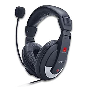 Amazon In Buy Iball Rocky Over Ear Headphones With Mic Online At Low Prices In India Iball Reviews Ratings
