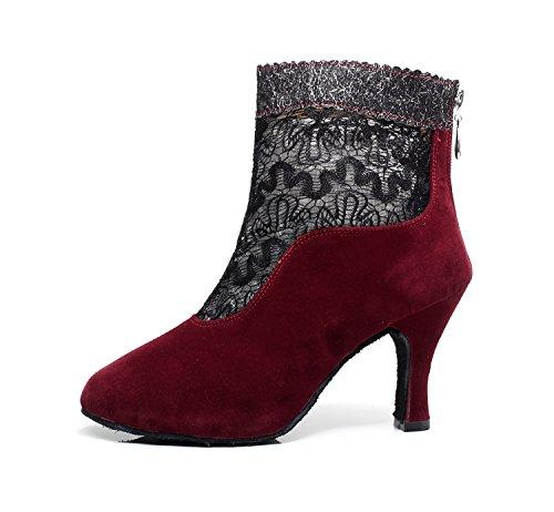 Minitoo - Ballroom donna Red-7.5cm Heel
