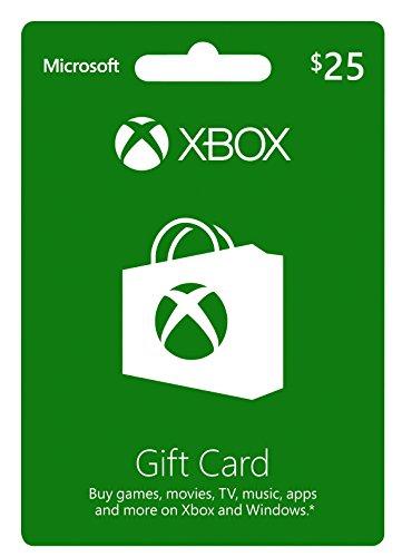 Xbox Live $25 Karte Guthabenkarte (Microsoft-25-karte)