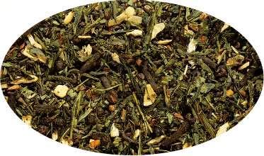 Infusion d'épices et Thé vert Green Chai (Cardamome/Cannelle) aromatisé - 100g