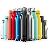 ecologica 100/% senza BPA non tossica per acqua calda e fredda per bambini piccola bottiglia da 350 ml Borraccia in vetro a forma di animale con cannuccia riutilizzabile design semplice e carino