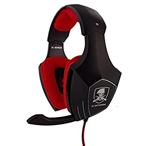 Subsonic – X-2000 Stereo-Gaming-Headset für PS4, PS3, Xbox 360 und PC – X-STORM universal gaming headset X-2000