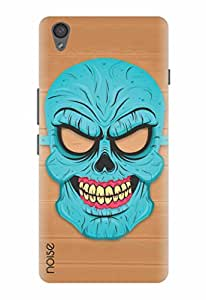 Noise Blue Skull Printed Cover for OnePlus X