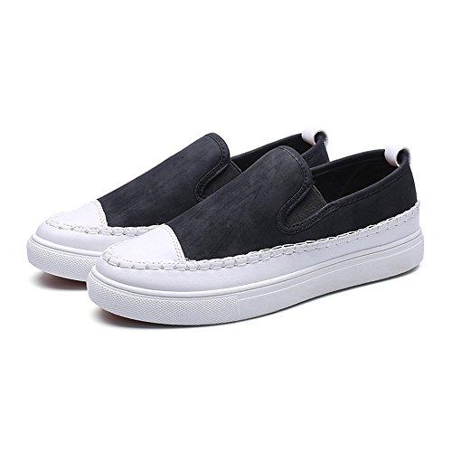 gli uomini di moda casual scarpe espadrilli wear-resistant uomini bassi aiuto espadrilli black